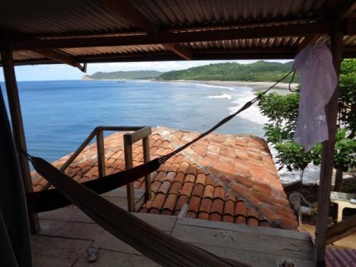 Blick auf die Bucht von Olivers Terrasse