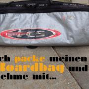 Packliste Boardbag Surfen Wellenreiten
