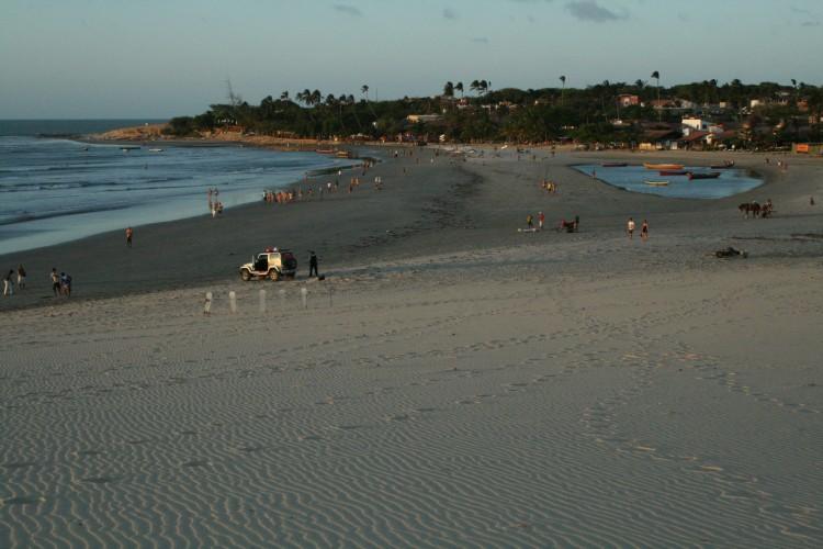 kite kiten kitesurfen jericoacoara Brasilien