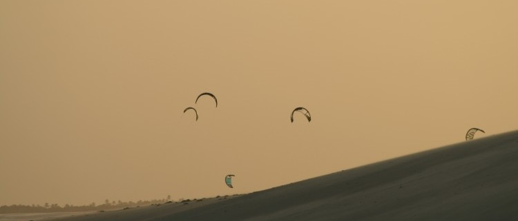 kiten Brasilien jericoacoara