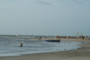 kite kitesurfen kiten jericoacoara Brasilien
