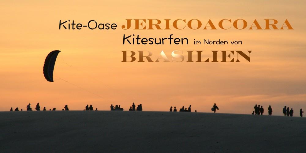 kiten in jericoacoara Brasilien