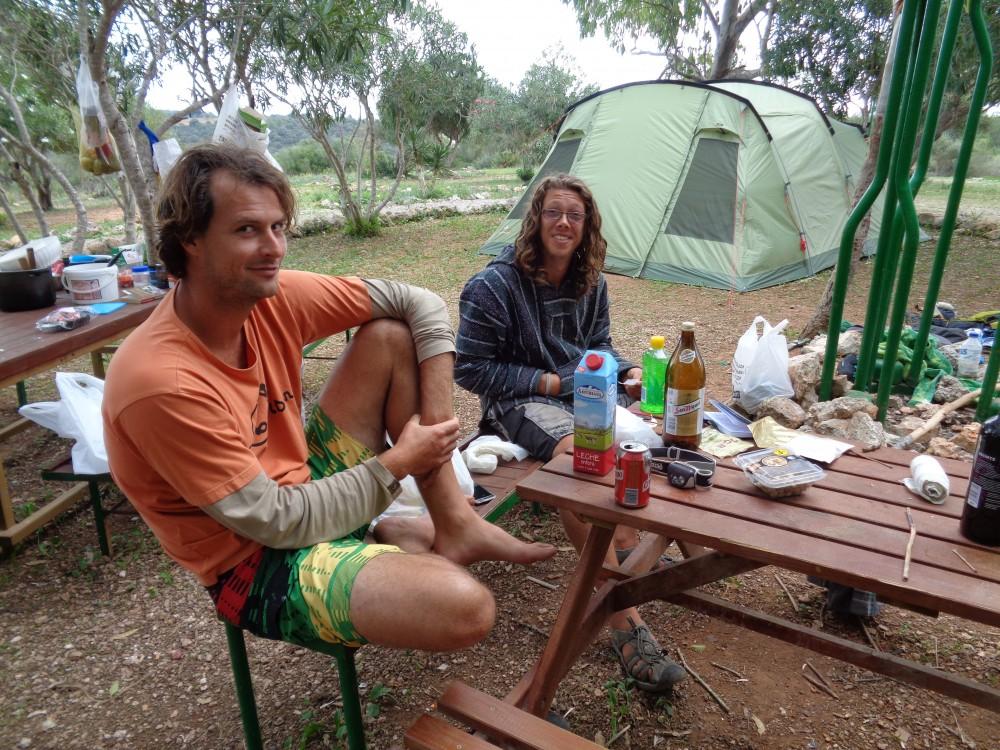 campen auf mallorca