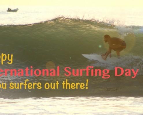 international surfing day