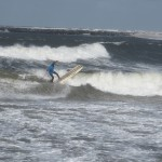 surfen im winter