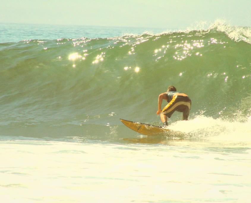 surfen im fruehling