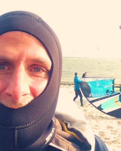 surfen im winter