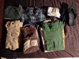 Kleider packliste reisen