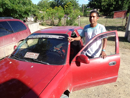 Taxifahrer Antonia Nicaragua