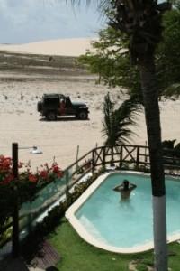 pool Strand Jericoacoara Brasilien