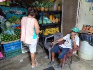 menschen markt san juan del Sur