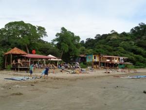 Chillen am Playa Maderas in Nicaragua
