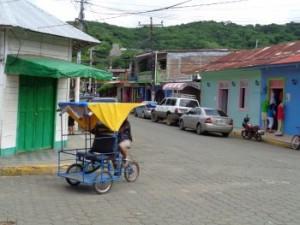 Kreuzung san Juan del Sur