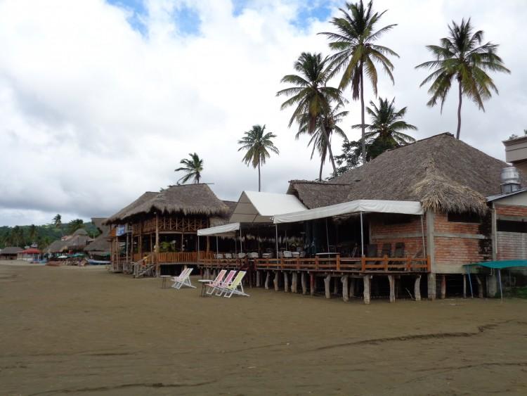 Stadt strand beach san juan del sur nicaragua