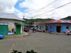 Straße san juan del Sur