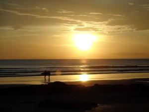 Surf-Romantik pur! Der Norden Nicaraguas.