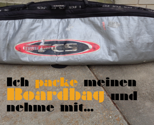 Packliste Boardbag Surfen Wellenreiten