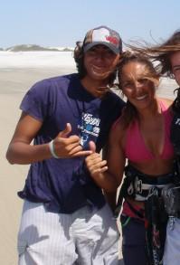kitesurfing Brasilien jeri
