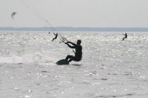 Sprung kitesurfen ostsee