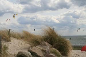 strand pelzerhaken Ostee kiten