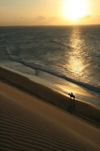 kiten kitesurfen jericoacoara Brasilien