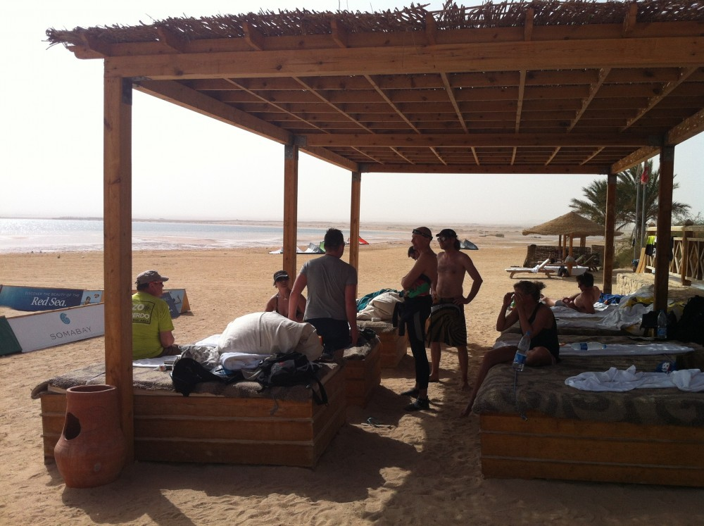 kitesurfen in soma bay ägypten