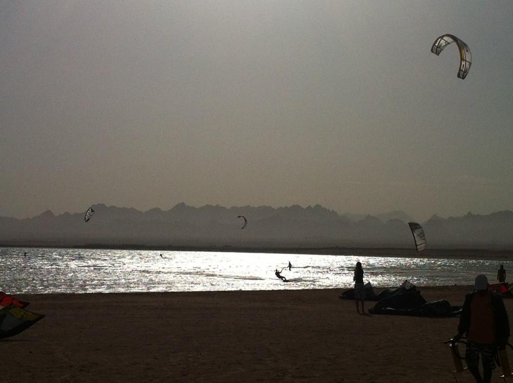 kitesurfen soma bay ägypten