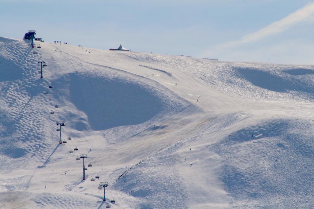 snowboarden obersaxen