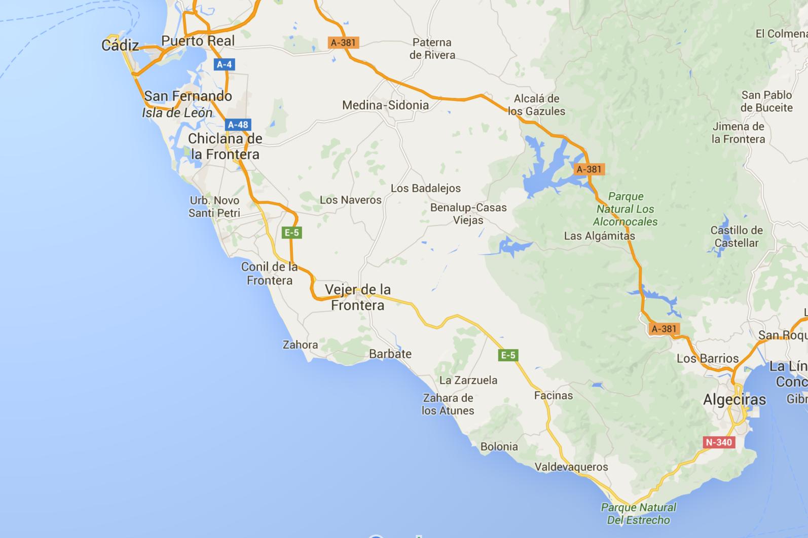 Karte Andalusien Cadiz.Surfen In Andalusien Surfguide Für Spaniens Surf Schlaraffenland