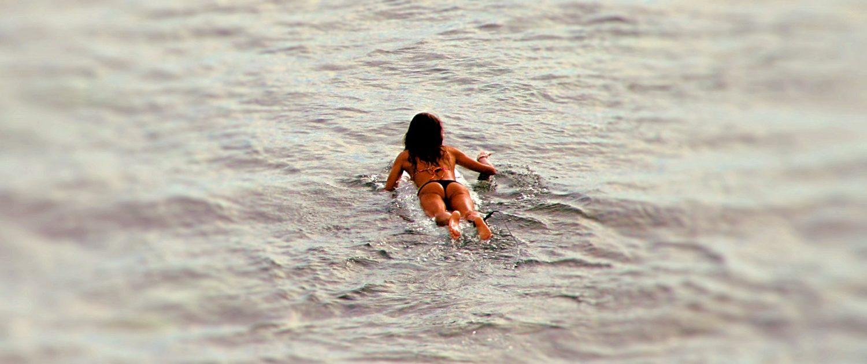 richtig paddeln beim surfen