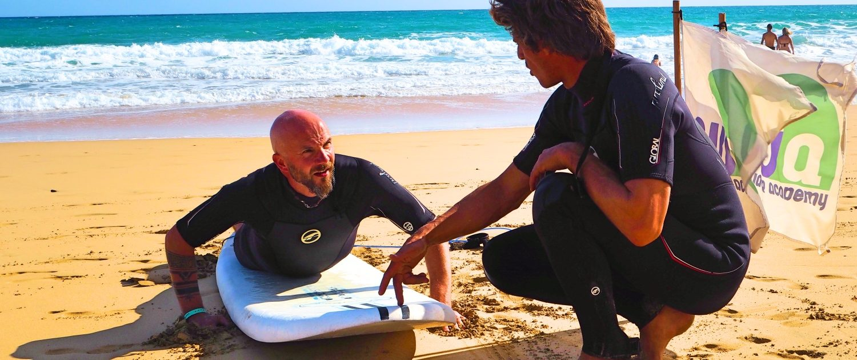 Surfen Algarve Surfschule
