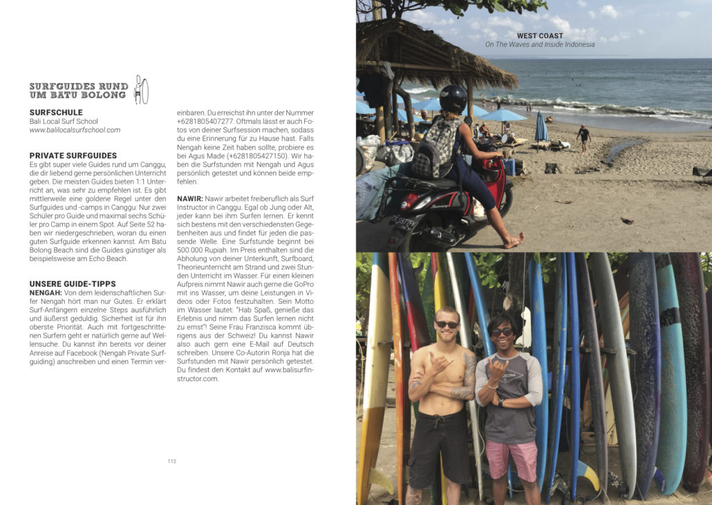 Surfen auf Bali surfguide