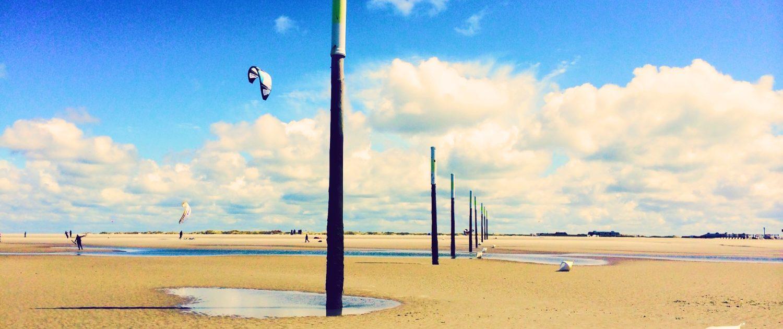 Kitesurfen Sankt Peter Ording