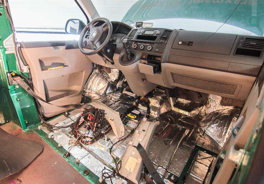 VW T5 Bulli Umbau