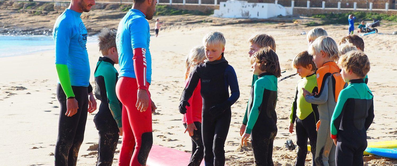 Surfen an der Algarve