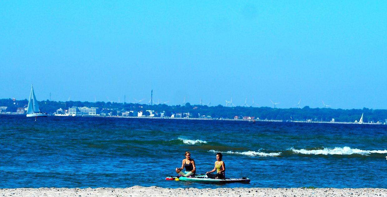 Surfen Lübecker Bucht