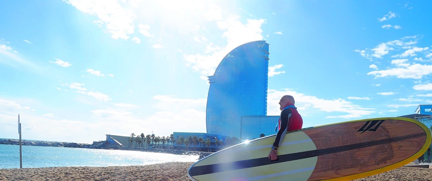 Surfen in Barcelona